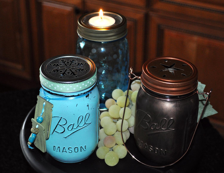 Mason Jar Tealight Candle Holders Blains Farm Fleet Blog