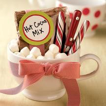 Cocoa mug christmas gift homemade