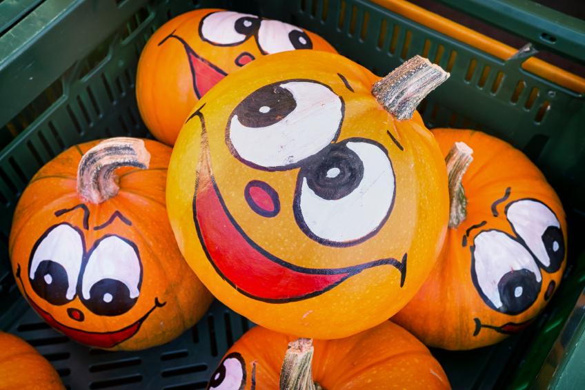 Pumpkin Painting Blains Farm Fleet Blog - How to paint a pumpkin