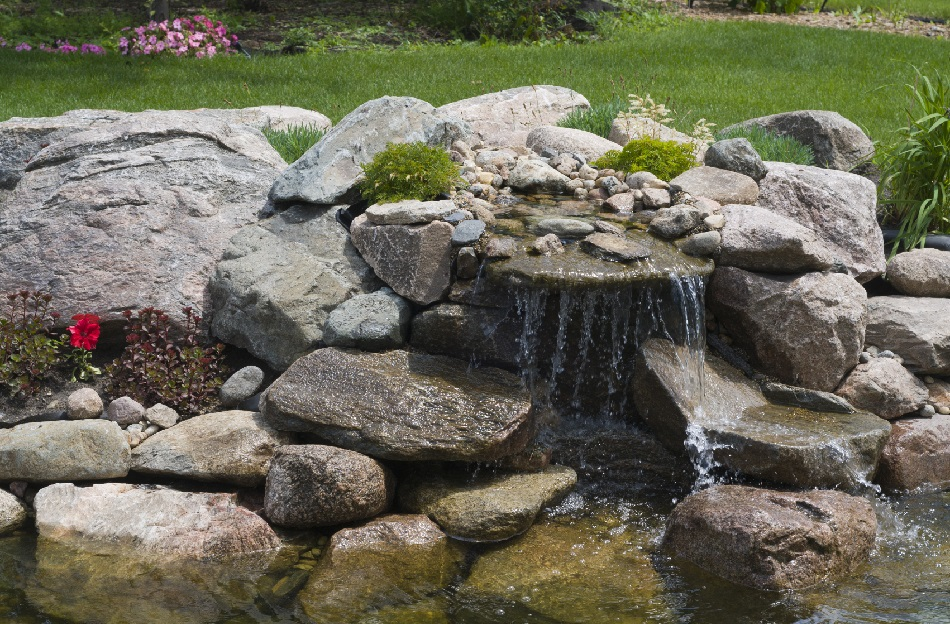 How To Build A Waterfall For Your Pond Blain S Farm