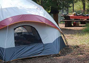Campsite Selection Tips