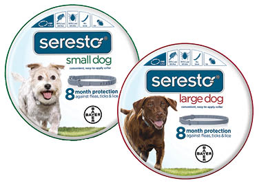 Seresto® Flea & Tick Collars For Dogs
