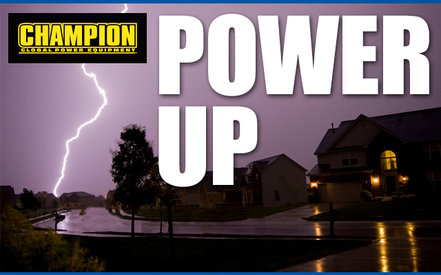 Power Up with Champion Power Equipment