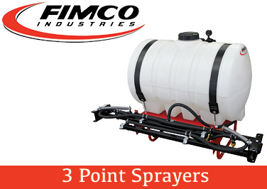Fimco 3 Point Sprayers
