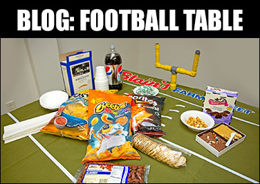 Turn Your Snack Table into a Football Field