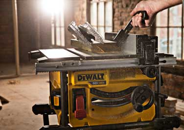 "DEWALT 8-1/4"" Table Saw"