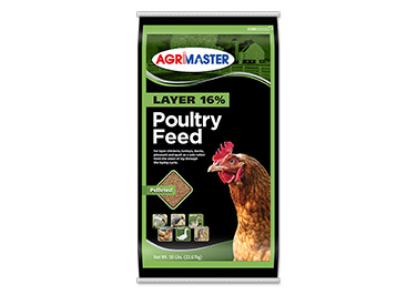 Agrimaster Layer 16% Pelleted Poultry Feed