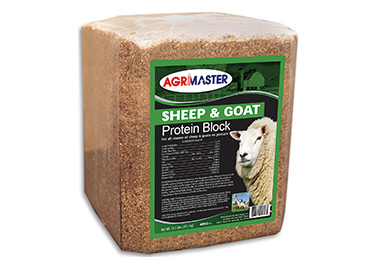 Agrimaster Sheep and Goat Protein Block
