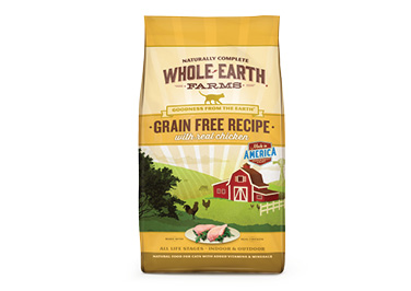 Whole Earth Farms® Dry Cat Food