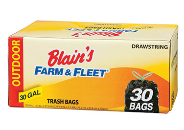 Farm & Fleet Outdoor Trash Bags