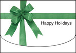 Happy Holidays (Green Ribbon)
